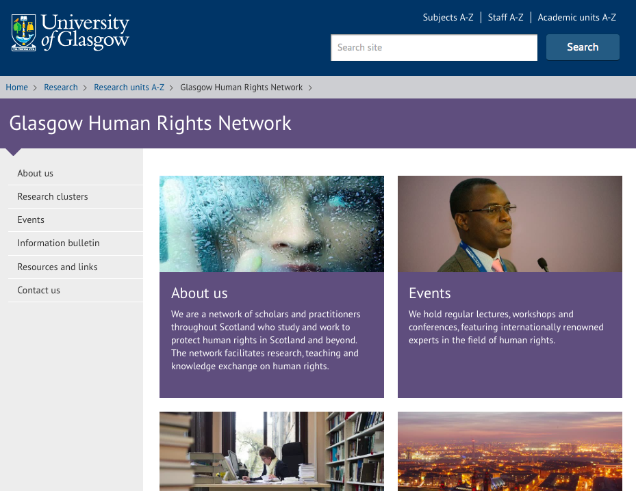 Glasgow Human Rights Network