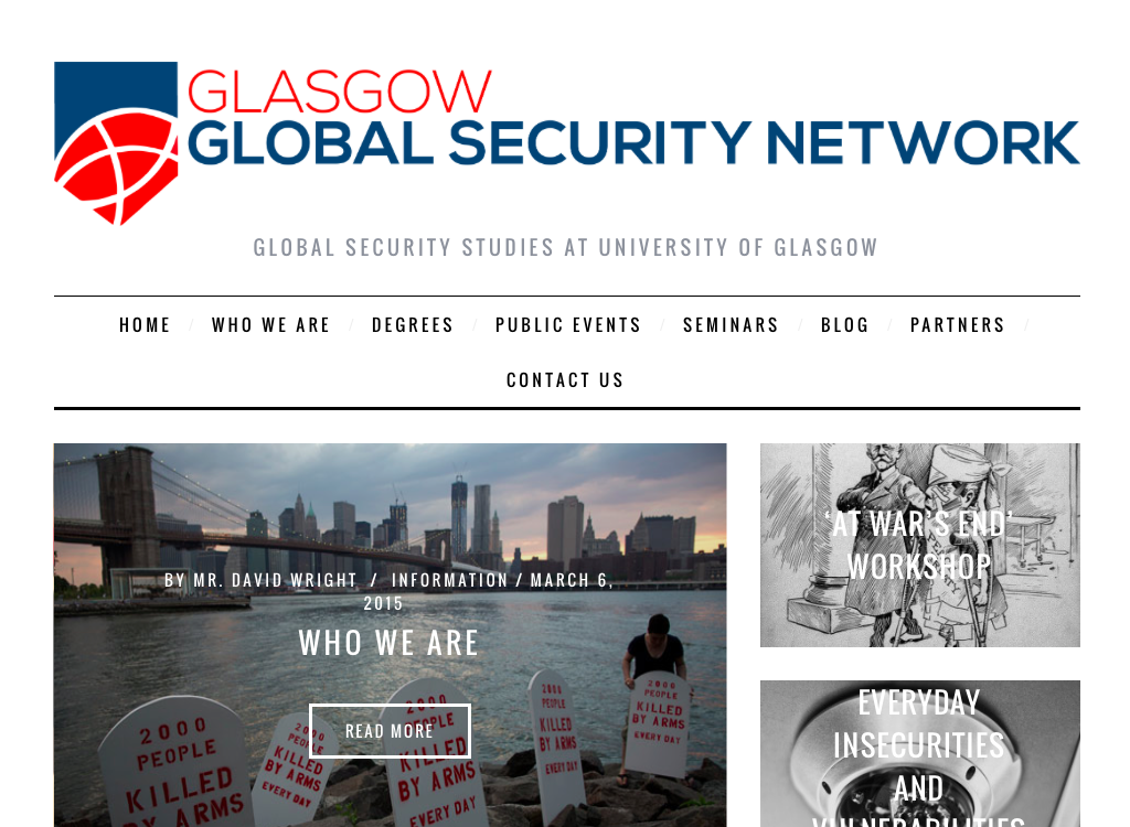 Glasgow Global Security Network